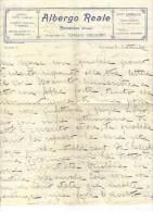A59 - ITALIA , Lettera Con Intestazione Dell' ALBERGO REALE ROCCARASO Del 193... - Italia