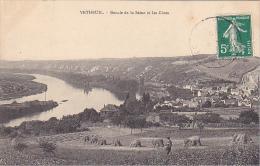 22580 Vetheuil -BOUCLE DE LA SEINE ET LES COTES ... Sans éd ; Foin Fenaison -