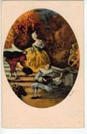 Pontor:Italien Gravur - 1965  Art Nouveau - Ilustradores & Fotógrafos