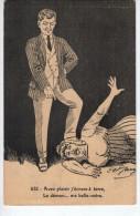 632 - Avec Plaisir J'écrase à Terre, Le Démon...ma Belle-mère. - Autres Illustrateurs