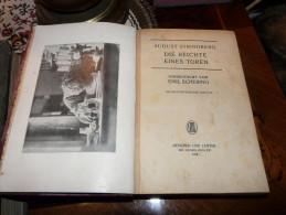 Emil Schering - Die Beichte Eines Toren 1918 München Leipzig Deutschland Germany - Libri Vecchi E Da Collezione