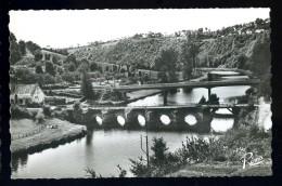 Cpsm Du 29 Châteauneuf Du Faou  Vue Sur La Vallée  -- Le Pont Du Roy        FEV10 - Châteauneuf-du-Faou