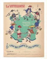 Protège Cahier La Vittelloise L'eau Qui Chante Et Qui Danse D&saltère La France Entière - Protège-cahiers
