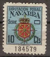 Locales Navarra Diputación Foral (*) Escudo. 10 Cts - Viñetas De La Guerra Civil