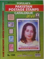 PAKISTAN - POPULAR STAMPS CATALOGUE 2014 EDITION, Complete Coloured Catalogue, Free Shipping - Cataloghi