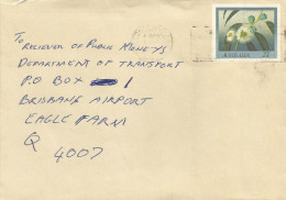 Australia 1983 Maryborough Tasmanian Blue Gum Eucalyptus Flower Pre-stamped Envelope No. 52 Stationary Cover - Postwaardestukken