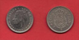 SPAIN 1975, Circulated Coin, 50 Pesetas, Juan Carlos, Km 809, C1719 - [ 5] 1949-… : Koninkrijk