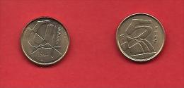 SPAIN 1989-1998, Circulated Coin, 5 Pesetas, Aluminum-bronza,  Km 833, C1728 - [ 5] 1949-… : Kingdom