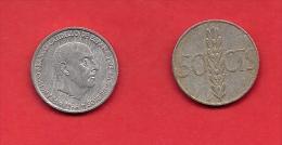 SPAIN 1966, Circulated Coin, 50 Centimos, Franco, Aluminum,    Km 795, C1736 - [ 5] 1949-… : Kingdom