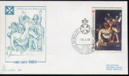 SMOM - 1983 FDC ANNO SANTO (2471) - Malte (Ordre De)