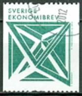 Zweden 2012 Geometrische Figuren Rolzegel GB-USED - Usati