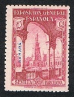 Ed. 25 Sahara 5 Cts. Nuevo Sin Char. - Sahara Español