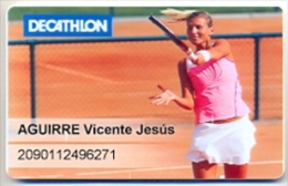 Decathlon  Spain, Rewards Card, Collectible, No Value # 58 - Gift Cards