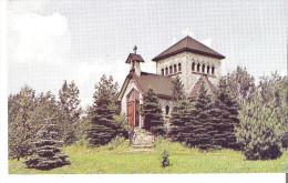 """Abbaye Sainte-Benoit-du-Lac, Quebec  La Tour Saint-Benoit. Oratoire Erige En 1947 Format Reg. 3.5"""" X 5.5"""" - Quebec"""