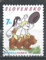 Slovakia. Scott # 433 Used. Intl. Day Of Child. 2003 - Slovakia