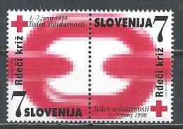 Slovenia. Scott # RA16a-b, MNH Pair. Postal Tax Stamps. 1998 - Slovenia