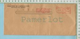 "Ministere De L´Agriculture EMA 1962 ( Meter Stamp 2 Cents Publicité ""Exiger Les Pommes Du Quebec"" ) 2 Scan - 1952-.... Règne D'Elizabeth II"