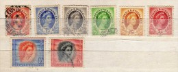 Rhodésie Scott N°141.142.143.143B.144.149.150.152.oblitérés (456) - Rhodesia & Nyasaland (1954-1963)