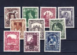 Mi. Nr. 812 - 821 Postfrisch - 1945-60 Ungebraucht