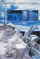 USA 2000 Escaping The Gravity Of Earth Stamps S/s Sc#3411 Hologram Unusual Space - Holograms