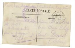 Franchise Militaire 1er Régiment De Zouaves Depot - Poststempel (Briefe)