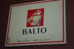 BOITE TABAC CIGARETTES  BALTO Métal Etablissements CHAMBON NANTES - Boites à Tabac Vides