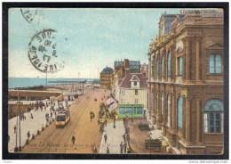 CP Le Havre.Le Grand Quai Et Le Musée.Tram. S M . (304) - Le Havre