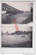 Au Plus Rapide Strasbourg Pont Sur Le Rhin Destruction Guerre ? Septembre 1946 Excellent état Format 6.7 Par 10 Cm - Lieux