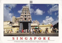 Sri Mariamman Hindu Temple, Singapore - Impact, Posted 1991 From Durban South Africa - Singapore