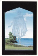 The Maori Christ - St. Faith's Church, Ohinemutu, Rotorua, New Zealand -  Rotorua Printers, Posted 1993 - New Zealand
