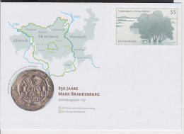 A1 /  Ganzsache Plusbrief 2003  / 850 Jahre Mark Brandenburg - BRD