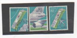 JAPON 1994 YT N° 2129-30-31 Oblitéré - 1989-... Emperor Akihito (Heisei Era)
