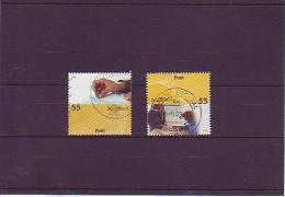 Mi. Nr. 2723-24 Post Universal: Absender - Postfiliale - Gebraucht
