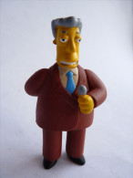 FIGURINE SIMPSON - UNITED LABEL 2009 - KENT BROCKMAN - Simpsons