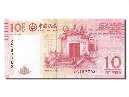 [#254321] Macao, 10 Patacas, Type Temple De Barra - Macao
