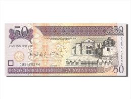 [#254315] République Dominicaine, 50 Pesos Oro, Type 2006 - Dominicaine
