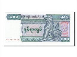 [#154235] Myanmar, 200 Kyats Type 1990 - Myanmar
