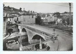 Laroquebrou - Le Pont Sur La Cère - CPSM Grand Format - Autres Communes