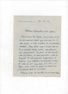 L.A.S.jérome CARCOPINO.(immortel)1881-1981.une Page 1/3.dix-sept Lignes.lettre à L'ambassadeur Léon NOËL - Autografi