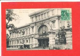 SAIGON  Cpa Animée Hotel Des Postes     1417 Dieu - Vietnam