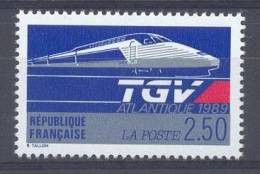 FRANCE - Yv. Nr 2607 - TGV - MNH** - PRIX POSTAL 0,38 € - Nuovi