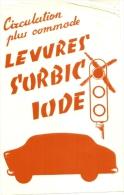 Buvard Pharmacieutique -levure Scorbique  Rhinite Chronique   -  TTB - Chemist's