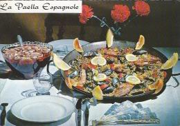 CPSM Recette  : La Paella Espagnole - Recipes (cooking)