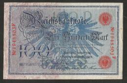 DEUTSCHES REICH / GERMANY - 100 MARK (1908) - [ 2] 1871-1918 : Impero Tedesco
