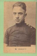 GIORGETTI.  2 Scans. Edition Sportkaarten Frank Nels - Cyclisme