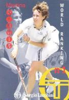 Italy Postcard Card Carte Postale Martina Hingis Tennis Tennisplayer Wimbledon Winner Sergio Tacchini Advert Card - Tennis