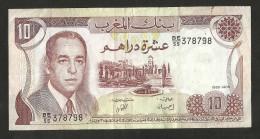 MAROCCO - BANQUE Du MAROC - 10 DIRHAMS (1985) - Marocco