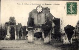 Cp Rumigny Ardennes, Ruines De L'Abbaye De Bonnefontaine - Autres Communes