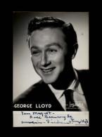 AUTOGRAPHES - GEORGE LLOYD - Théâtre PACRA à Paris - Dédicace - - Autographes