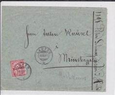SUISSE - 1891 - ENVELOPPE De LAUFEN - 1882-1906 Armarios, Helvetia De Pie & UPU